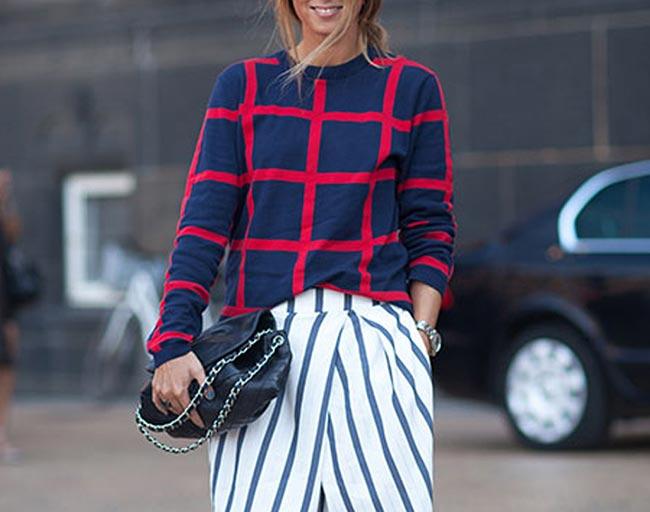 Windowpane Check Fashion Trend
