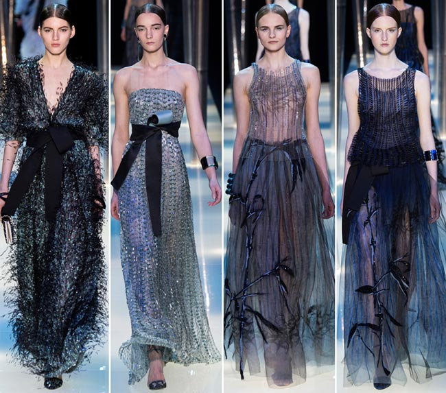 Giorgio Armani Prive Couture Spring/Summer 2015 Collection