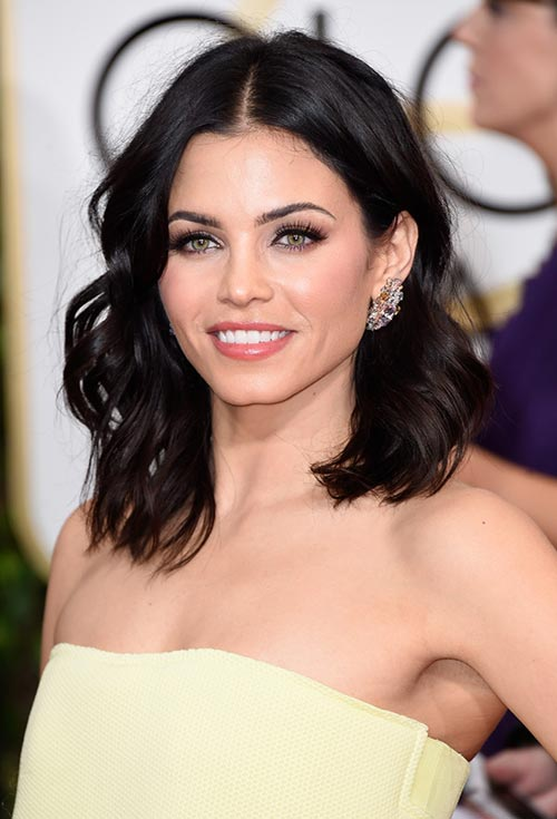Golden Globes 2015 Celebrity Hairstyles and Makeup: Jenna Dewan-Tatum