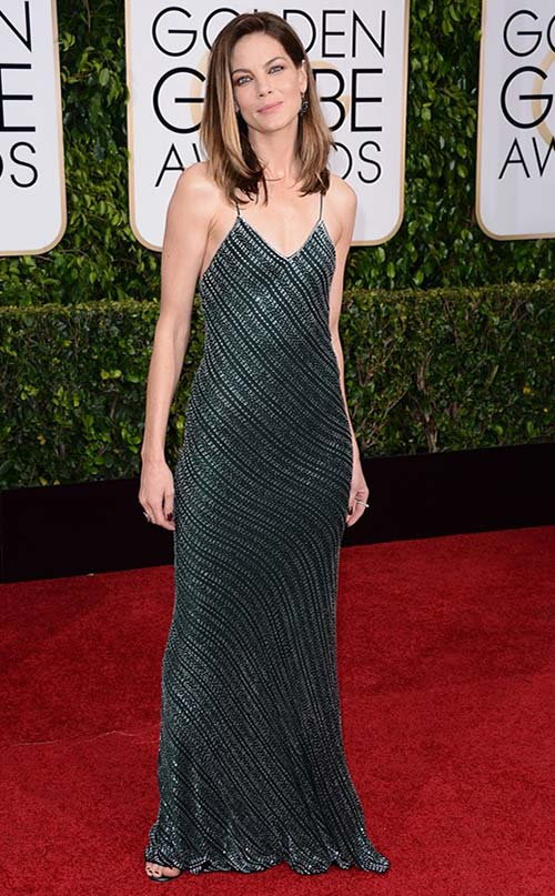 Michelle Monaghan at Golden Globes 2015