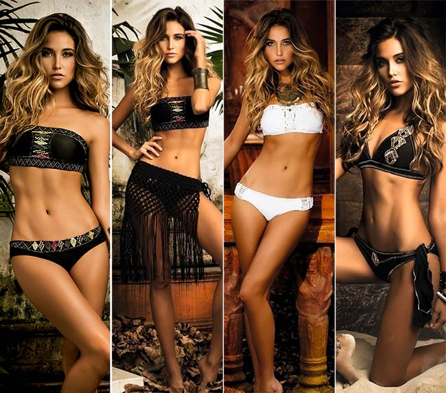 Mar de Rosas Swimwear 2015 Collection: Around The World