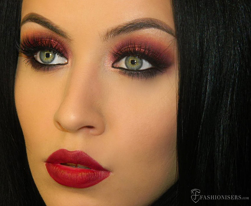 Marsala Makeup Tutorial: Pantone's Color of The Year