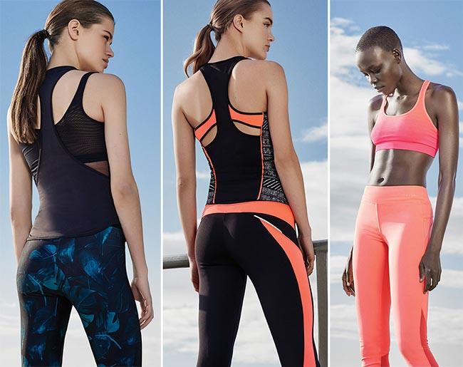 Oysho Gymwear Spring/Summer 2015 Collection