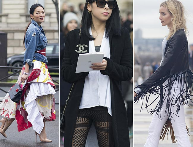 Paris Haute Couture Fashion Week Spring 2015 Street Style
