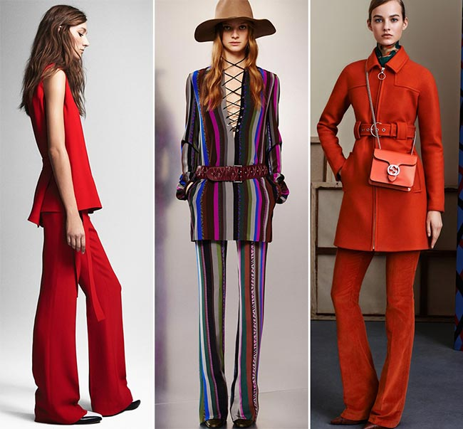 Pre-Fall 2015 Fashion Trends: '70s Matchy-Matchy Looks
