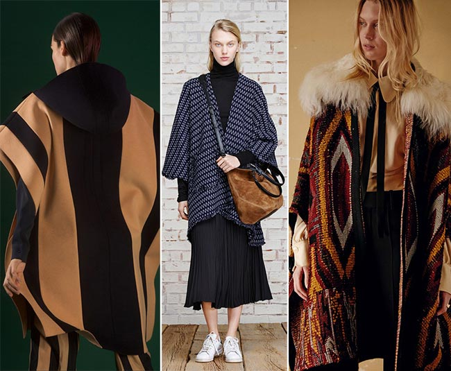 Pre-Fall 2015 Fashion Trends: Drug Rug Capes