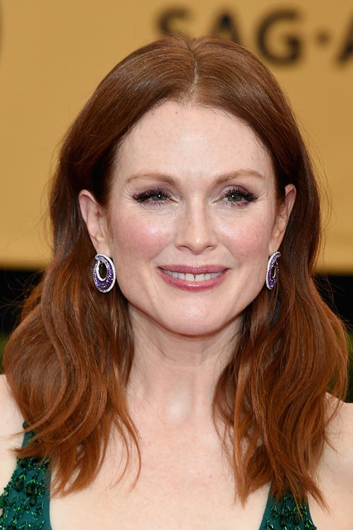 SAG Awards 2015 Hairstyles and Makeup: Julianne Moore