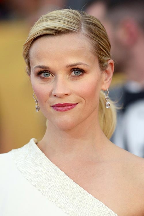 SAG Awards 2015 Hairstyles and Makeup: Reese Witherspoon