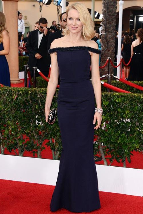 SAG Awards 2015 Red Carpet Fashion: Naomi Watts