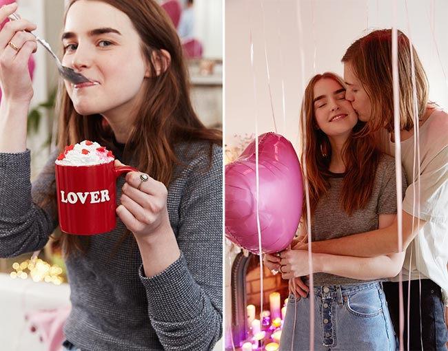 Urban Outfitters Valentine's Day 2015 Lookbook