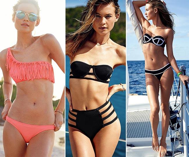 Behati Prinsloo Presenting Victoria's Secret Swimwear 2015