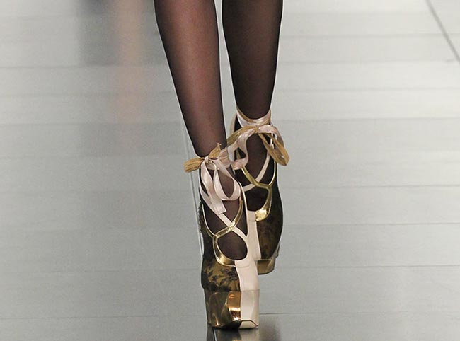 Spring 2015 Couture Accessories: Maison Martin Margiela Couture Spring 2015 Shoes
