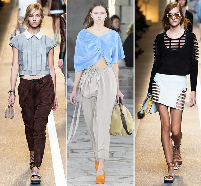 Spring/ Summer 2015 Trend of Suede Clothing: Modern Suede
