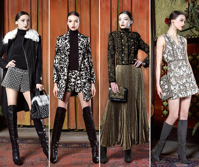 Alice + Olivia Fall/Winter 2015-2016 Collection