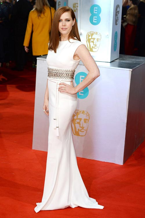BAFTA Awards 2015 Red Carpet Fashion: Amy Adams