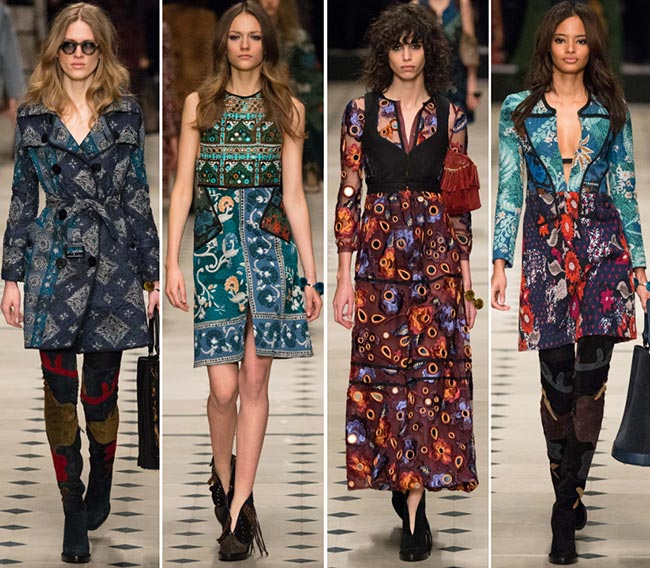 Burberry Prorsum Fall/Winter 2015-2016 Collection - London Fashion Week