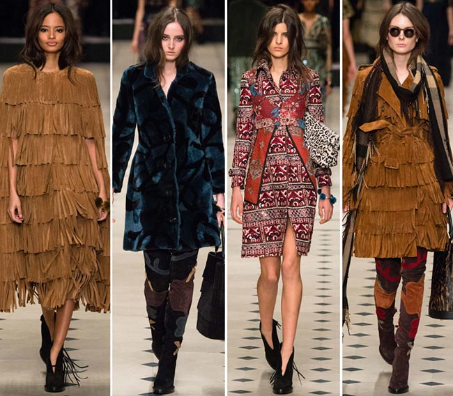 Burberry Prorsum Fall/Winter 2015-2016 Collection - London Fashion Week