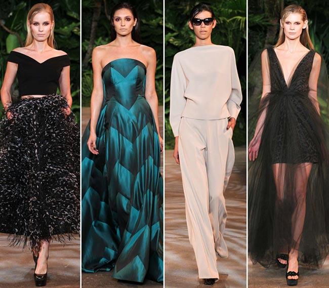 Christian Siriano Fall/Winter 2015-2016 Collection - New York Fashion Week