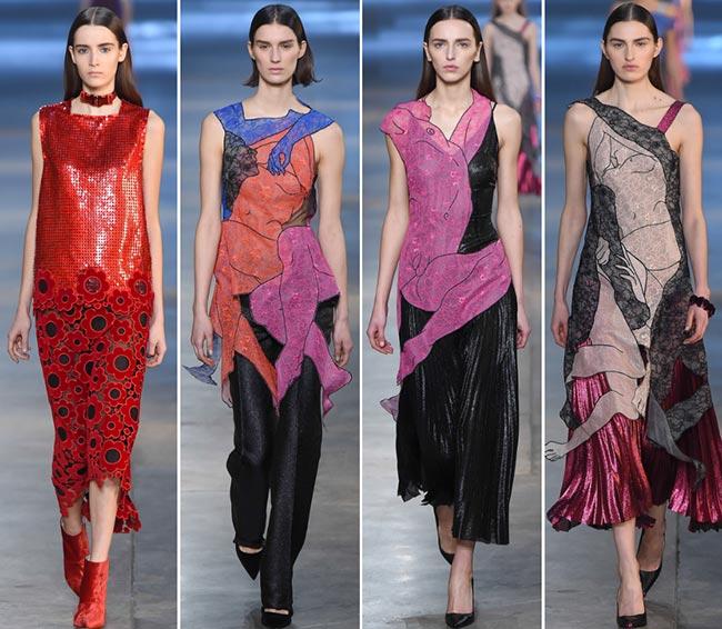 Christopher Kane Fall/Winter 2015-2016 Collection - London Fashion Week