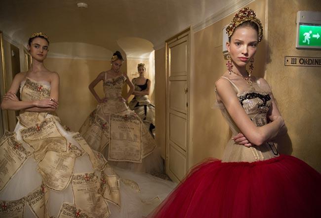 Dolce & Gabbana Alta Moda Spring/Summer 2015 Collection