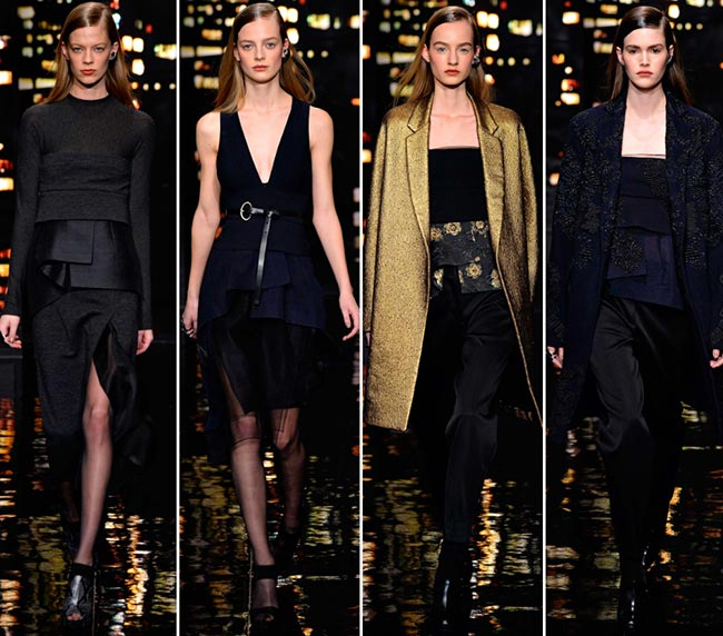 Donna Karan Fall/Winter 2015-2016 Collection - New York Fashion Week