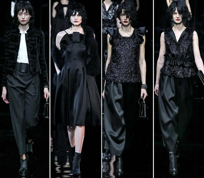 Emporio Armani Fall/Winter 2015-2016 Collection - Milan Fashion Week
