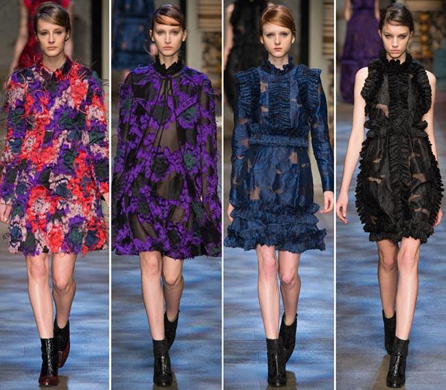 Erdem Fall/Winter 2015-2016 Collection - London Fashion Week