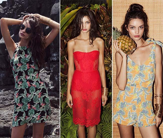 For Love & Lemons 'Pacific Getaway' Spring 2015 Lookbook