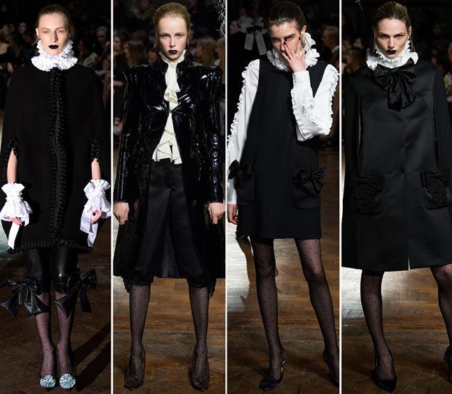 GILES Fall/Winter 2015-2016 Collection - London Fashion Week