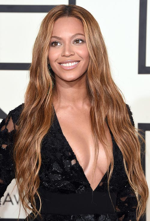 Grammy Awards 2015 Hairstyles and Makeup: Beyonce