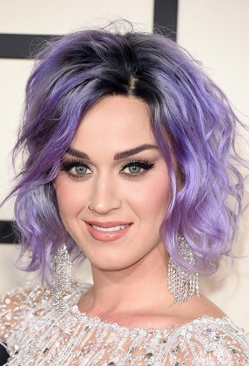 Grammy Awards 2015 Hairstyles and Makeup: Katy Perry