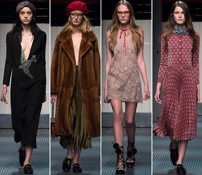 Gucci Fall/Winter 2015-2016 Collection - Milan Fashion Week