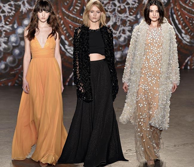 Jenny Packham Fall/Winter 2015-2016 Collection - New York Fashion Week