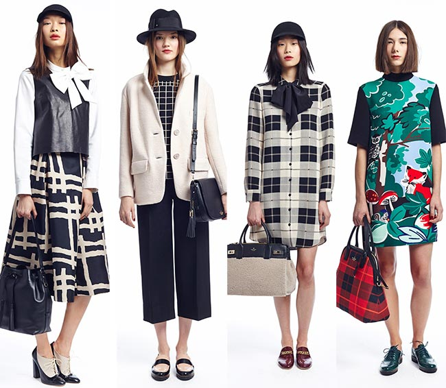 Kate Spade Fall/Winter 2015-2016 Collection - New York Fashion Week