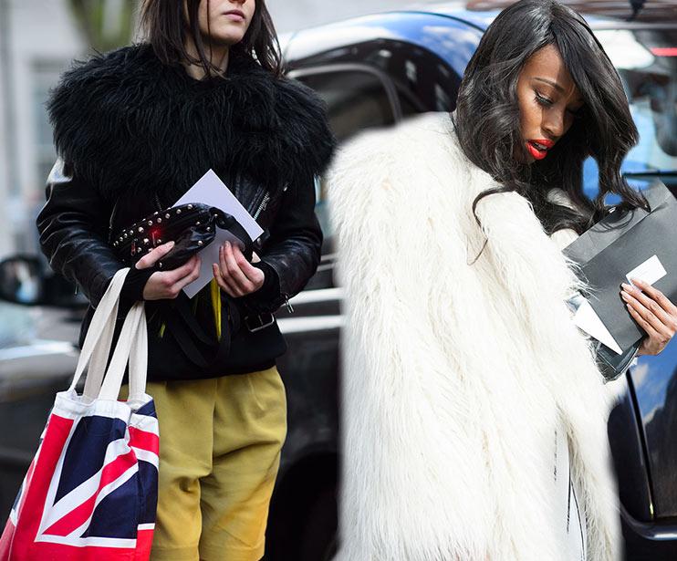 London Fashion Week Fall 2015 Street Style