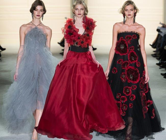 Marchesa Fall/Winter 2015-2016 Collection - New York Fashion Week