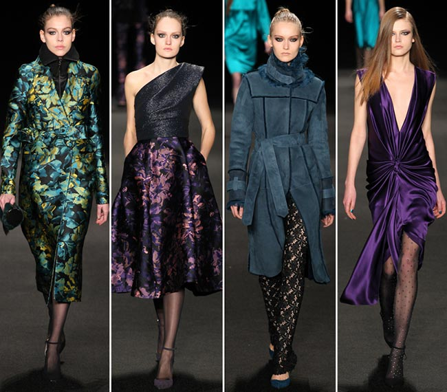 Monique Lhuillier Fall/Winter 2015-2016 Collection - New York Fashion Week