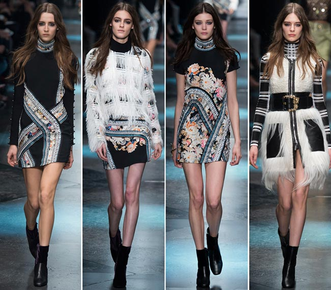 nice shoes a2c1f 54108 Roberto Cavalli Fall/Winter 2015-2016 Collection – Milan ...