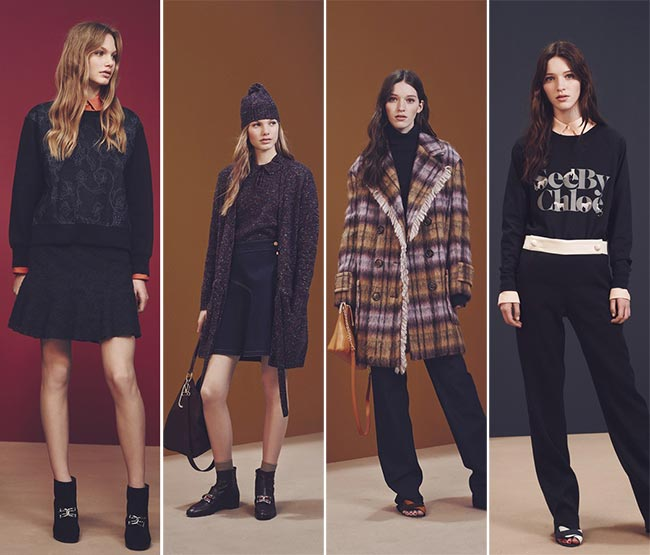 See by Chloe Fall/Winter 2015-2016 Collection - New York Fashion Week