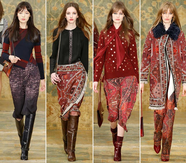 Tory Burch Fall/Winter 2015-2016 Collection