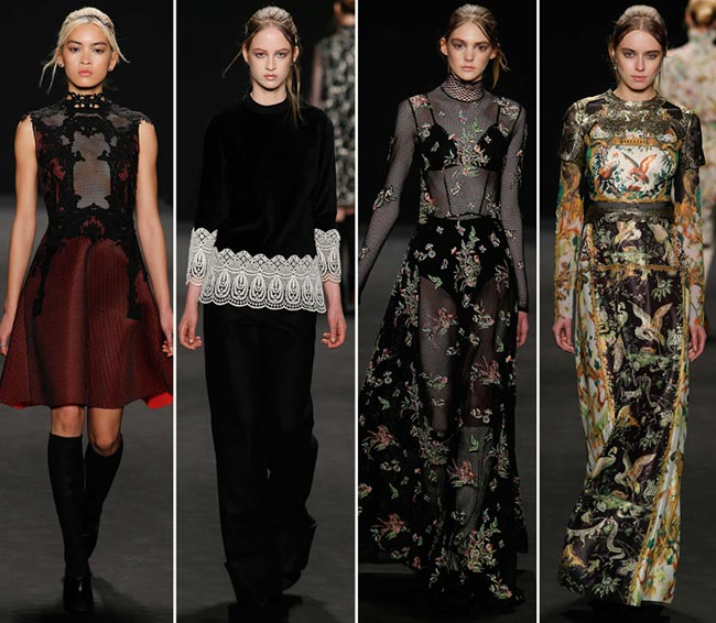 Vivienne Tam Fall/Winter 2015-2016 Collection - New York Fashion Week