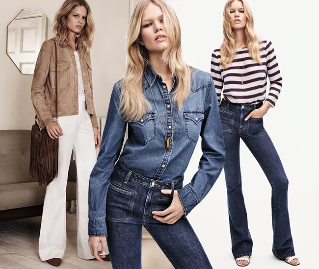 Anna Ewers for Mango Spring 2015 Campaign