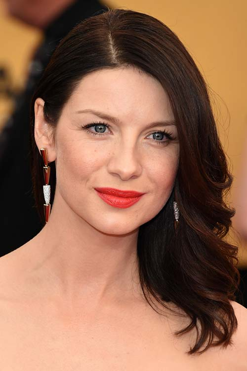 2015 Celebrity Inspired Valentine's Day Hairstyles: Caitriona Balfe