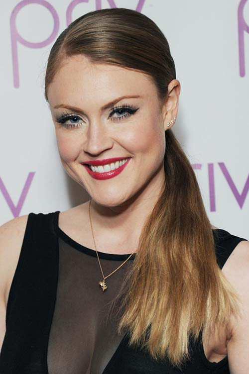 2015 Celebrity Inspired Valentine's Day Hairstyles: Camilla Kerslake