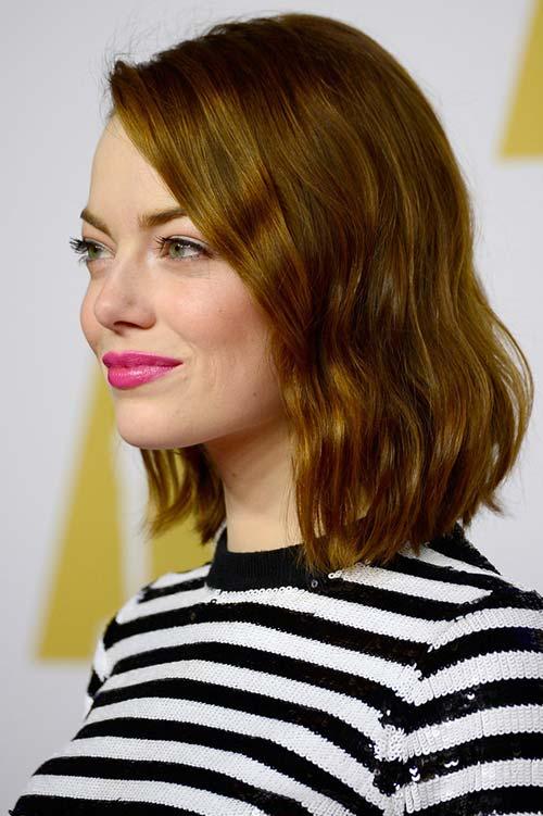 2015 Celebrity Inspired Valentine's Day Hairstyles: Emma Stone