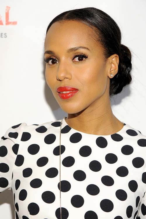 2015 Celebrity Inspired Valentine's Day Hairstyles: Kerry Washington
