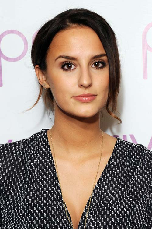 2015 Celebrity Inspired Valentine's Day Hairstyles: Lucy Watson