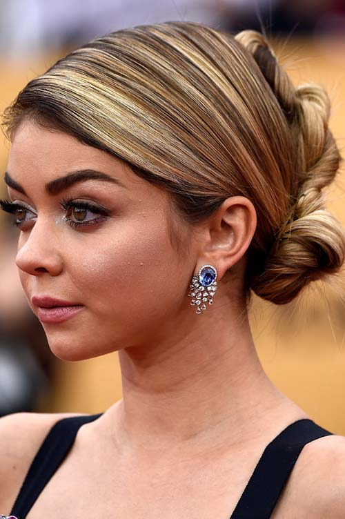 2015 Celebrity Inspired Valentine's Day Hairstyles: Sarah Hyland