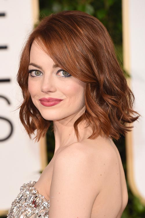 Trendy Hair Colors for Spring 2015: Emma Stone Red Hair