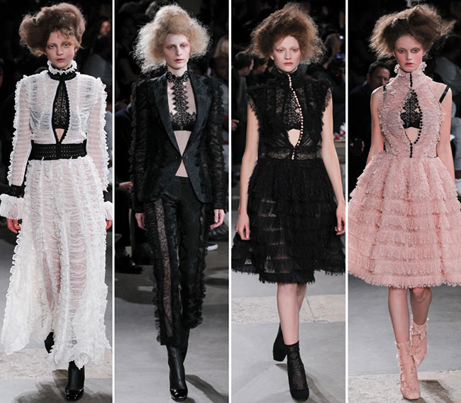 Alexander McQueen Fall/Winter 2015-2016 Collection - Paris Fashion Week